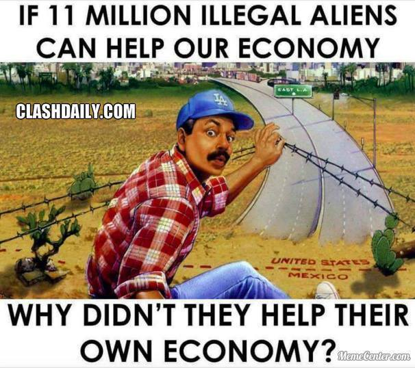 11 Million Illegal Aliens