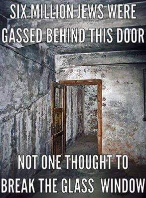 Gassed Behind The Door