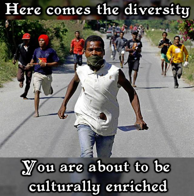 Here Comes The Diversity