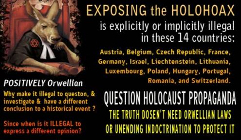 Holohoax Suppression