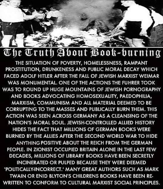 The Truth About Book Burning