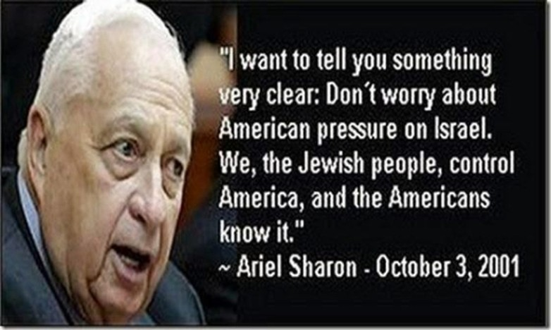 Ariel Sharon On Americans