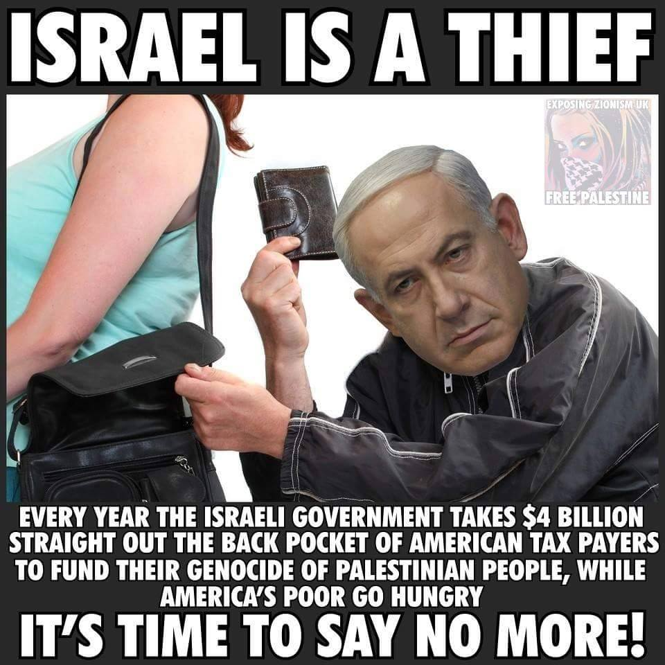 Israel Is A Thief