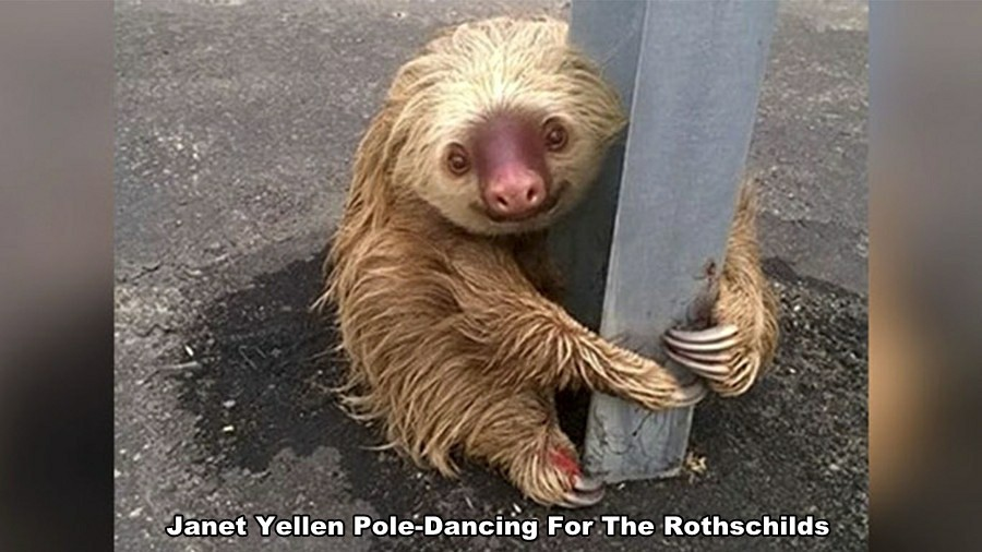 Janet Yellen Poledancing For The Rothschilds