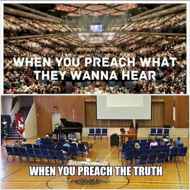 When You Preach...