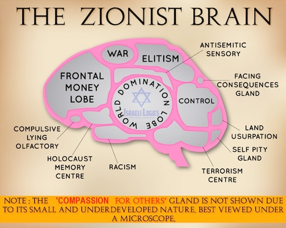 The Zionist Brain
