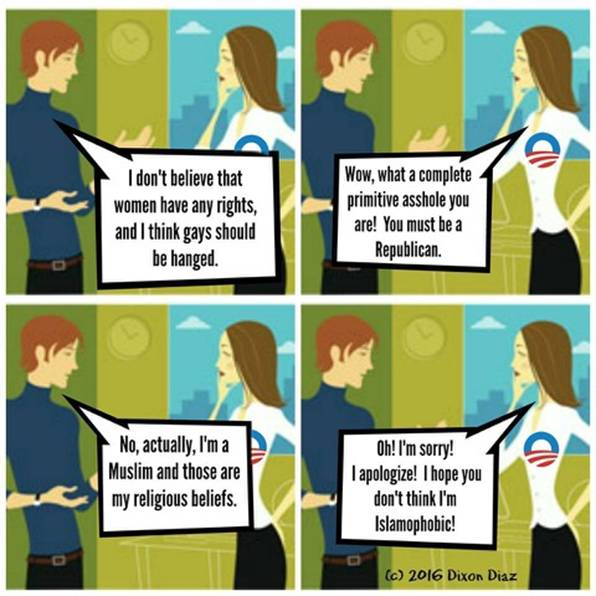 Politically Correct Female Cucks In Action...