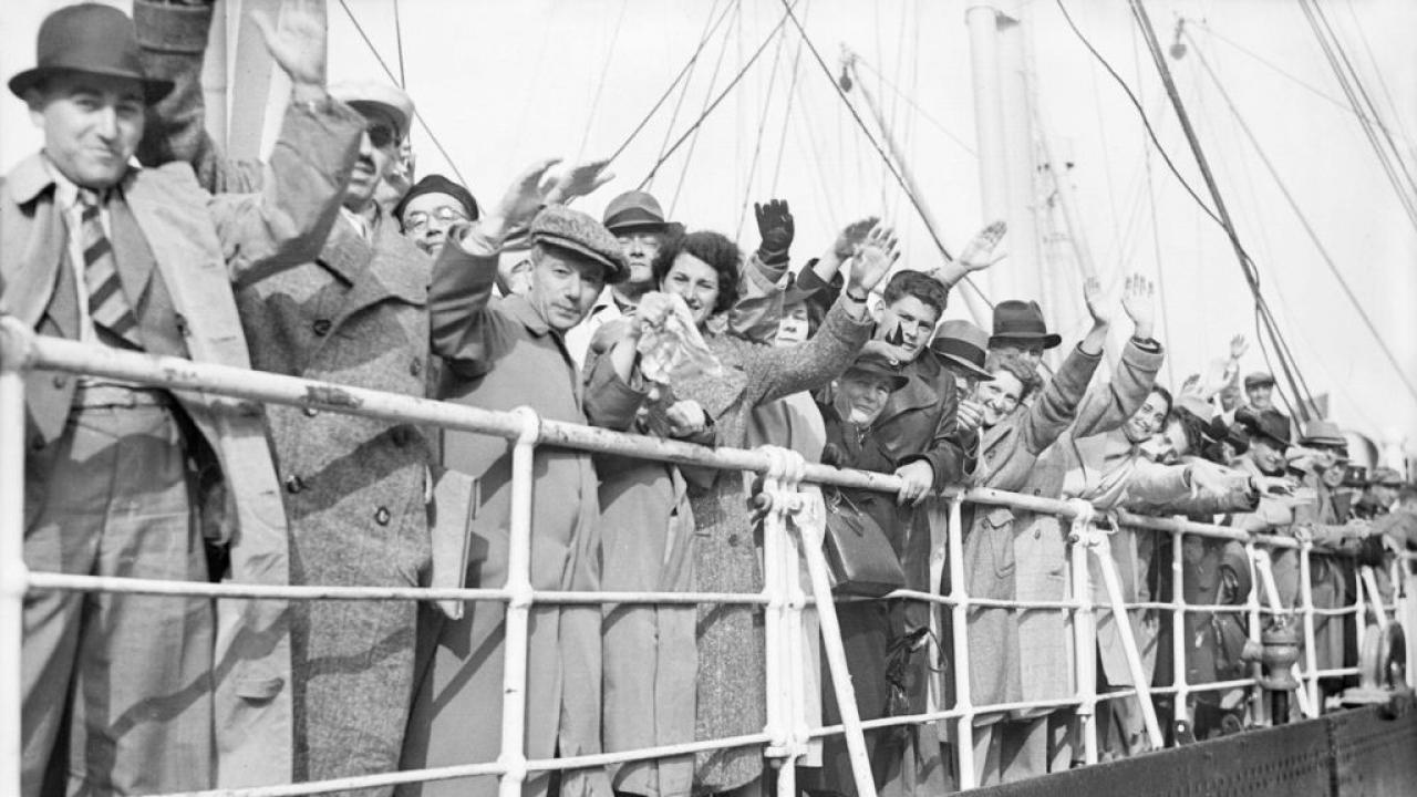 Jew Refugees To USA