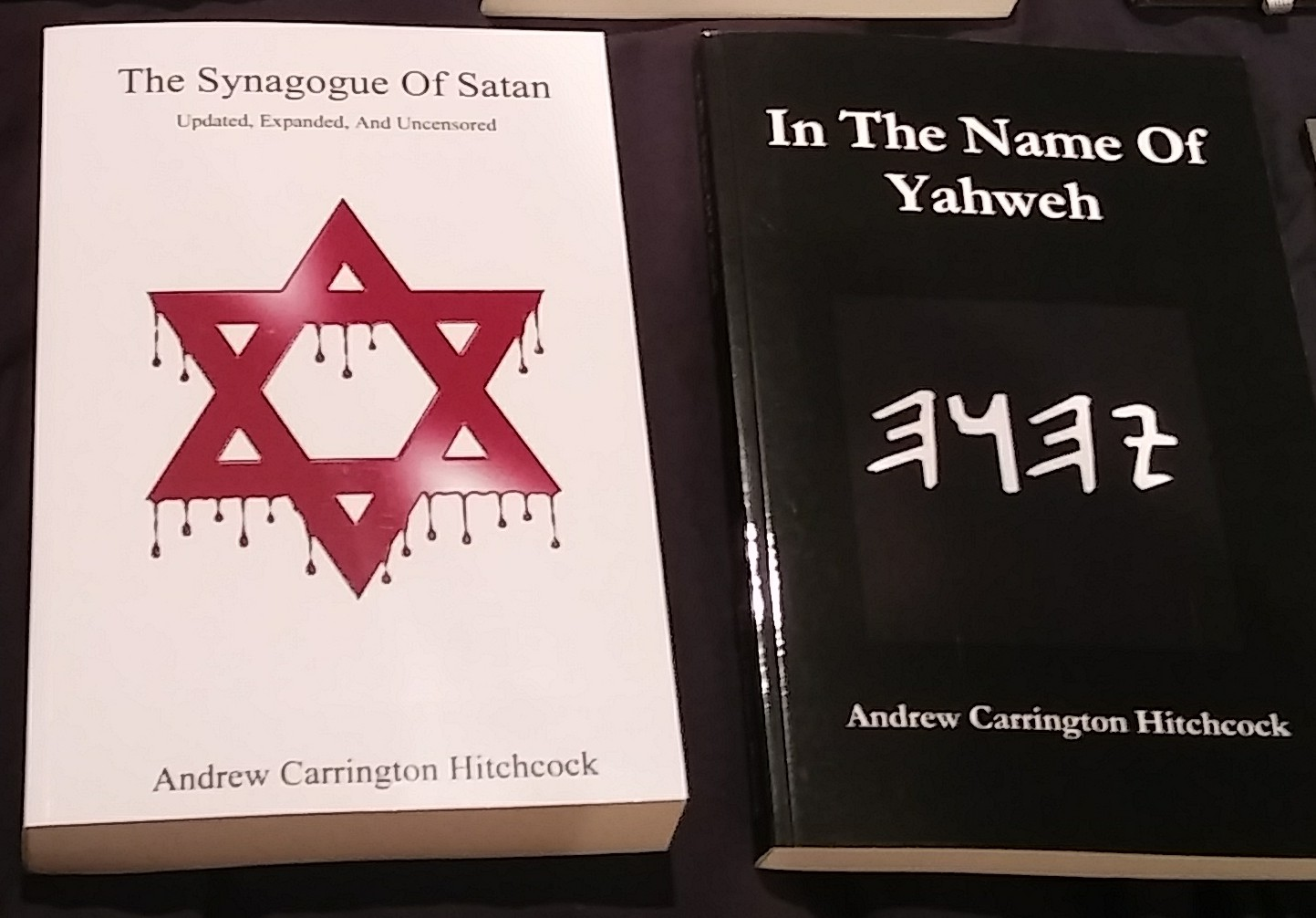 BANNED AND UNAVAILABLE AS OF TODAY: The Synagogue Of Satan – Updated, Expanded, And Uncensored & In The Name Of Yahweh