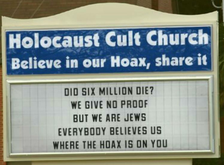 Holocaust Cult Church