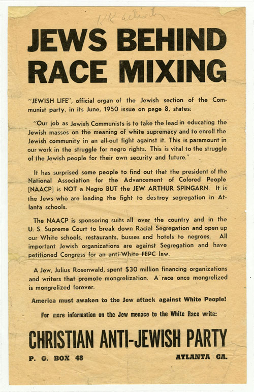 Jews Behind Race Mixing