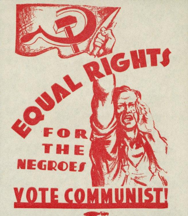 PosterNiggaRightsCPUSA