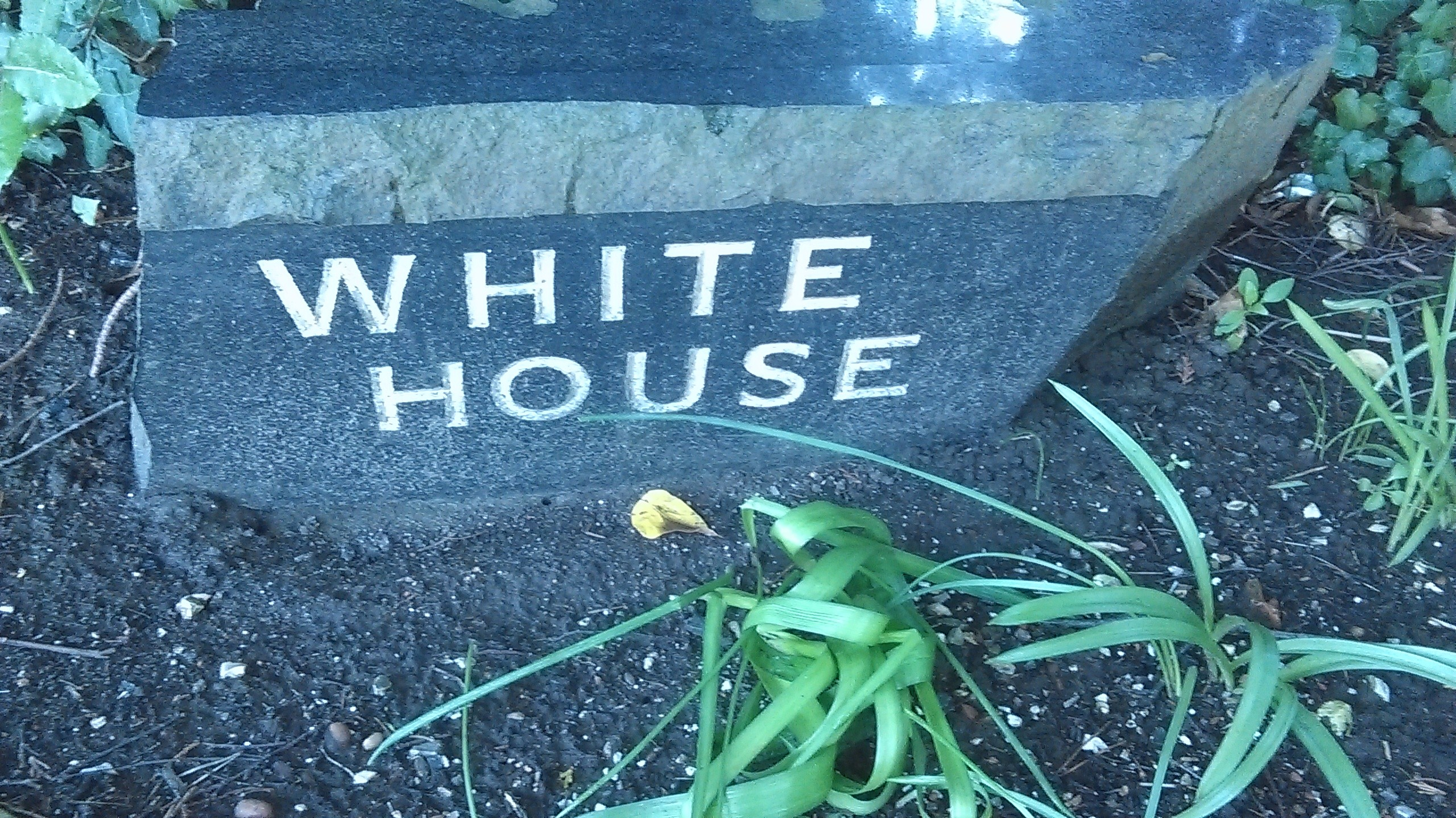 White House Plaque