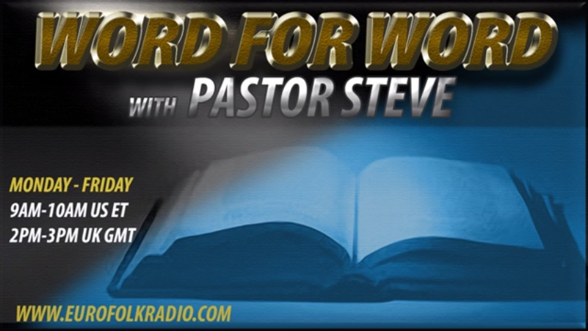 The Andrew Carrington Hitchcock Show (243) Pastor Steve – Word For Word