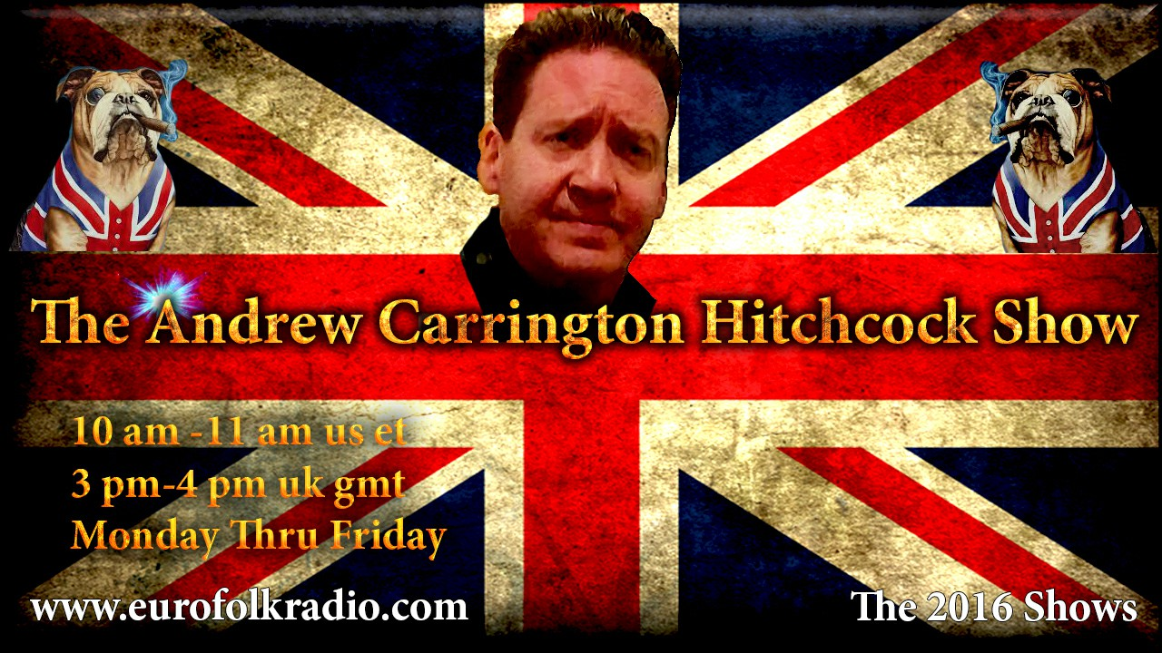 The Andrew Carrington Hitchcock Show - 2016 Shows