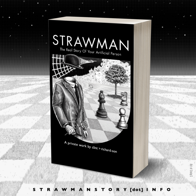 The Andrew Carrington Hitchcock Show (360) Clint Richardson – Strawman: The Real Story Of Your Artificial Person