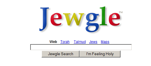 I Guess That's Why They Call It Jewgle…