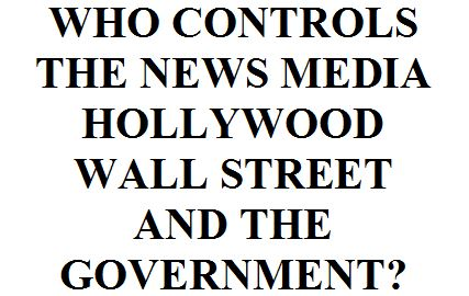 Who runs Hollywood? C'mon