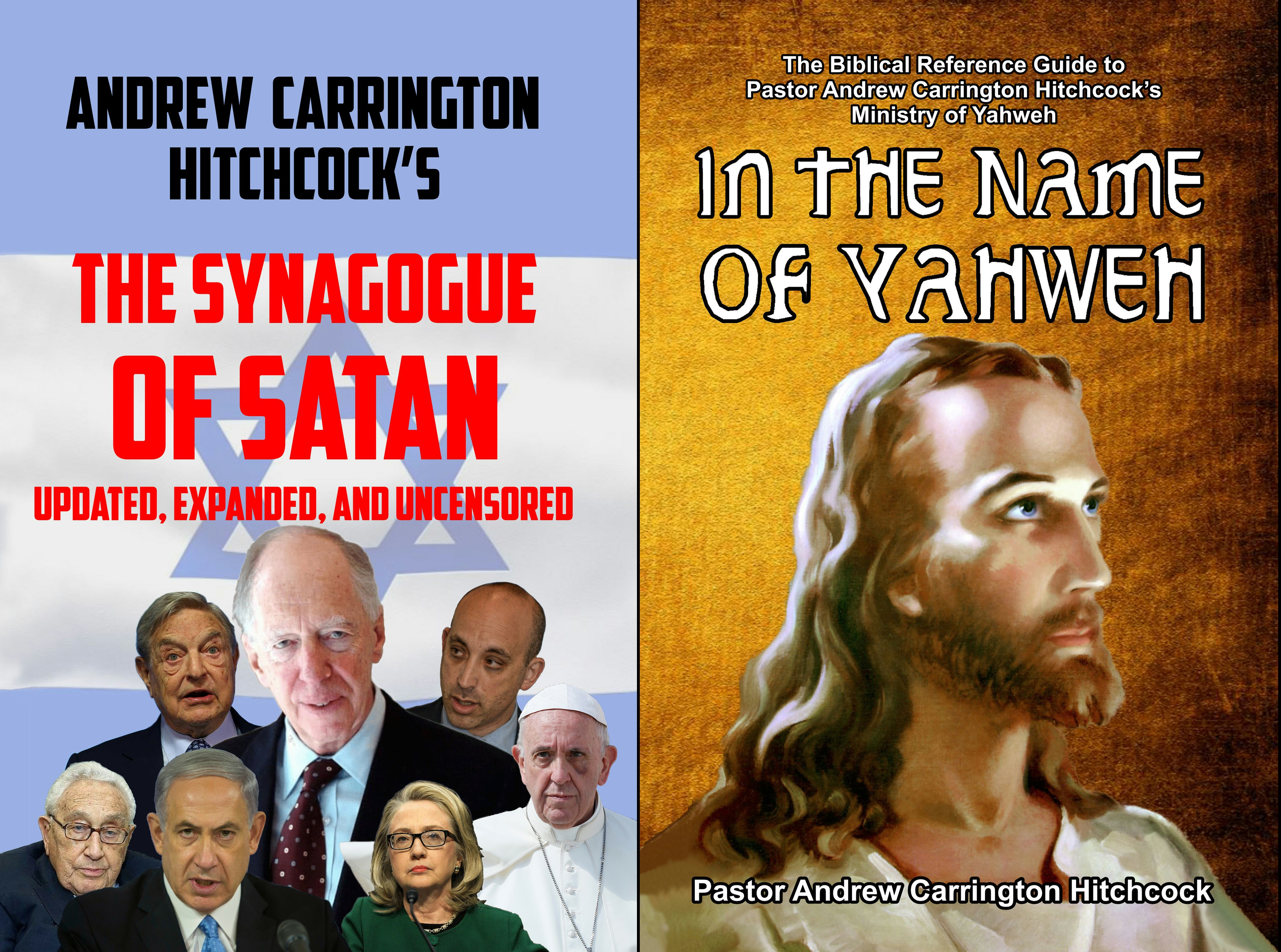 The Andrew Carrington Hitchcock Show (814) Dave Gahary – The New Versions Of The Synagogue Of Satan Updated, Expanded, And Uncensored & In The Name Of Yahweh