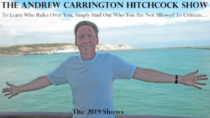 The Andrew Carrington Hitchcock Show - 2019 Shows