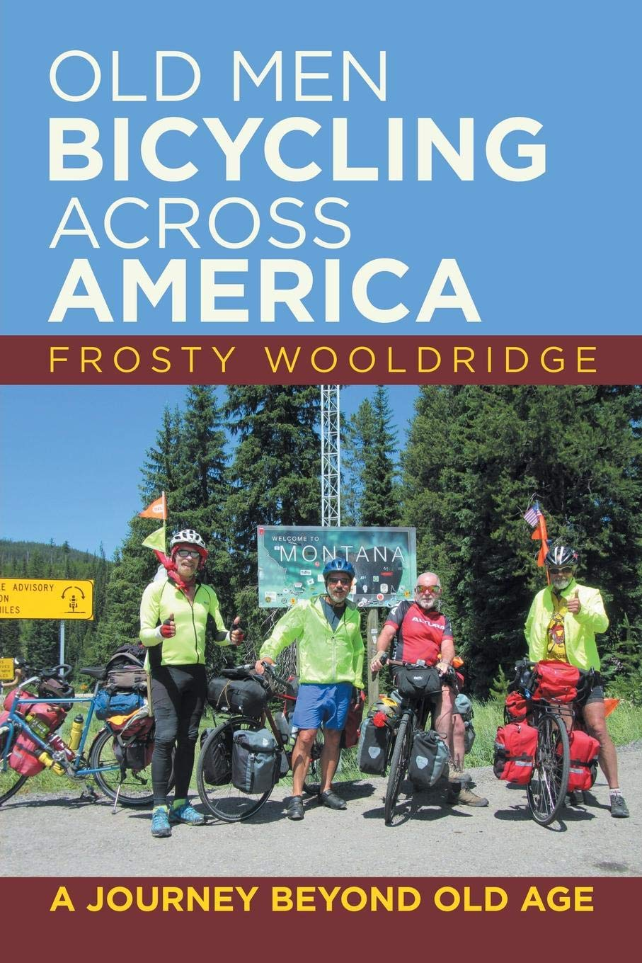 The Andrew Carrington Hitchcock Show (910) Frosty Wooldridge – Old Men Bicycling Across America: A Journey Beyond Old Age
