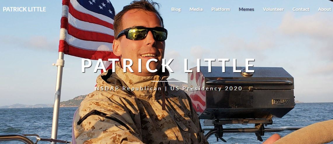 The Andrew Carrington Hitchcock Show (919) Monika Schaefer And Patrick Little – Patrick's NSDAP Republican Campaign For The US Presidency In 2020
